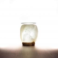 Himalája kristálysó lámpa,illóolaj  párologtatós