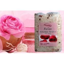 Rózsa illatú Himalája fürdősó 1 kg