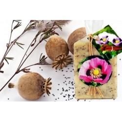 Mákos-fahéjas Kecsketej szappan - kézműves (100 g)