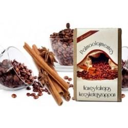 Pálmaolaj mentes Kávés-fahéjas kecsketejszappan - kézműves (100 g)