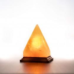 Himalája kristálysó lámpa piramis
