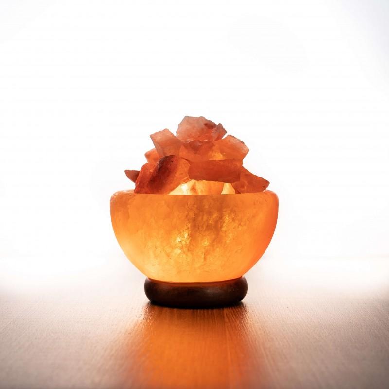 Himalája bowl kristálysó lámpa