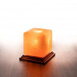 Himalája kristálysó lámpa kocka